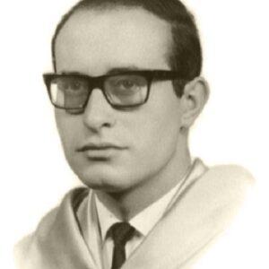 Graduación del Doctor Blas Bombín Mínguez. Año 1966.